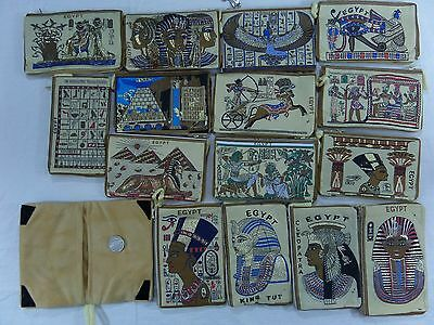 Ancient Egyptian Pharaohs wallet Handmade Cell Phone Case Mobile Phone Antique