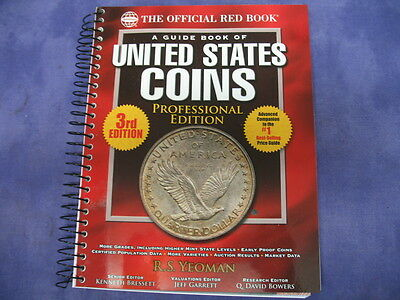 3rd Edition A Guide Book To United States Coins Professional Edition