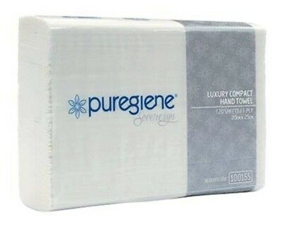 Puregiene Sovereign Luxury Compact  Hand  Towel Tad (Ctn 2160 Sheets)