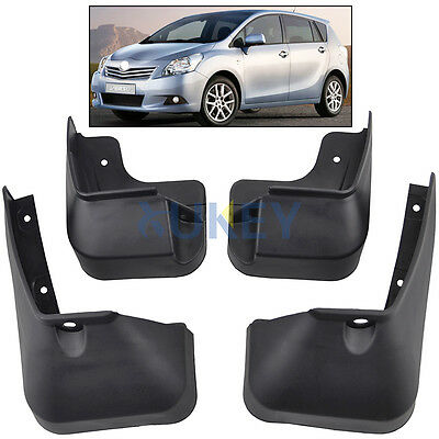 Molded Mud Flap Fit For Toyota Verso 09-On Mudflaps Splash Guards Mudguards