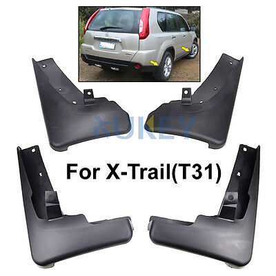 Fit For 2008~2013 Nissan X-Trail Mud Flap Flaps Splash Guards Xtrail 2009 2010