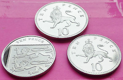 Royal Mint 10P Ten Pence Proof Coin - Various Years Available Mint Condition