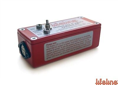LIFELINE Power Pack (Old Style Red Die Cast Box) Extinguisher Parts