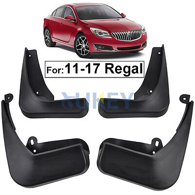 Front Rear Fit For Buick Regal 2011-2017 Mud Flap Flaps Splash Guards Mudguards