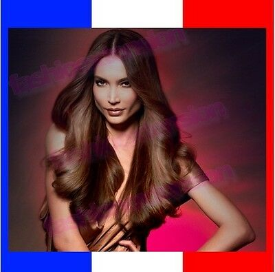 Extensions A Clips De Cheveux Naturel Remy Hair  ,8 Bandes, 18 Clips