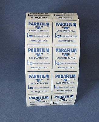 4 inch/10cm (wide) x 10 feet/305cm (long) Parafilm retail for laboratory florist