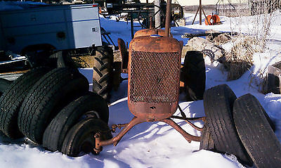 Allis Chalmers B Tractor Wide Front End 1939