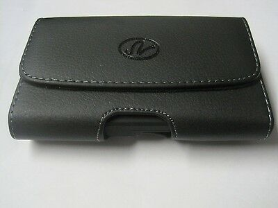 SAMSUNG   SGH- A107 phone leather case with belt clip and belt loop