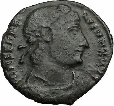 Constantine I The Great 330AD Ancient Roman Coin Legion Glory of Army  i36355
