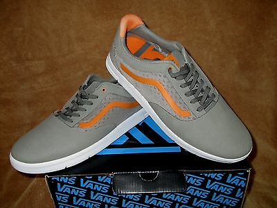 8ea28d0145 New Vans Graph Lxvi Shoes Dark Grey laser (Orange) Men s Sz 7 ...