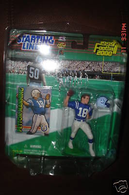 Peyton Manning Figure 1999/2000 SLU Starting LineUpFigure-Inadianapolis Colts QB