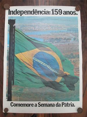 Brazilian independence poster