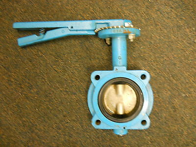 """Grinnell WC-8181-3 Series 8000 3/"""" Butterfly Valve  90 Degree Shut Off  WP:200"""