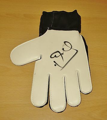 Peter Schmeichel SIGNED Goalkeeper Glove PROOF Manchester United AUTOGRAPH + COA