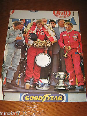 (33)* =James Hunt G.p. Germania 1976=Ritaglio=Clipping=Poster=Foto=