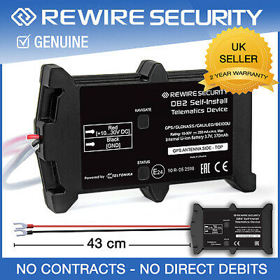Db2 Gps Tracker No Contract Vehicle Tracking Device For Car Van Motorbike Fleet