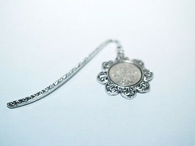 1957 60th Birthday Anniversary Sixpence Coin Bookmark with Shiny Sixpence Floral