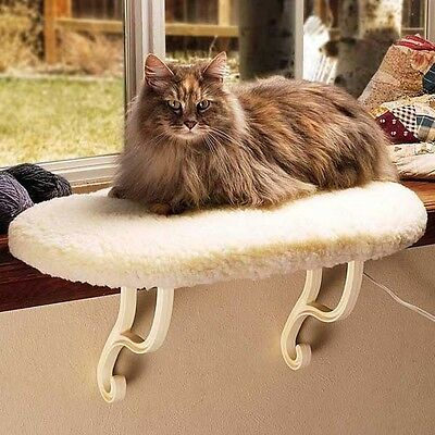 K&h3096 Thermo Kitty Cat Sill Unheated Windowsill Perch Bed