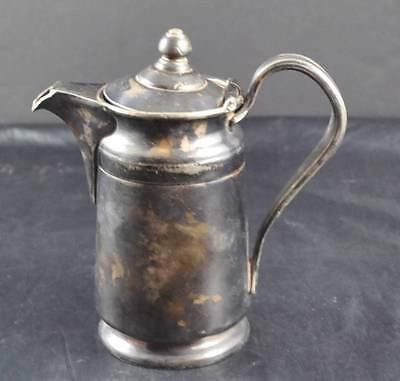 Vintage Reed & Barton Silver Soldered 2800 2 P 50 Creamer Teapot Pitcher 7""
