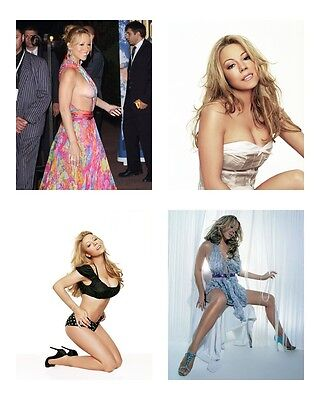 4 ~ Mariah Carey 8 x 10 / 8x10 GLOSSY Photo Picture LOT