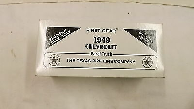 1st Gear 1949 Chevtrolet Panel Truck Texaco Pipeline Company #2  Box Only