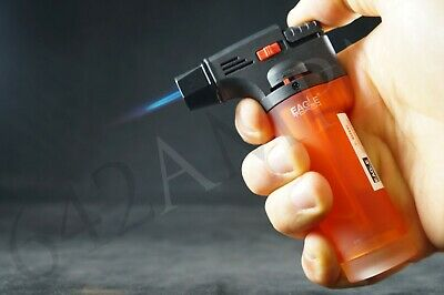 (Original) Eagle Jet Torch Gun Adjustable Windproof  Flame Refillable Lighter