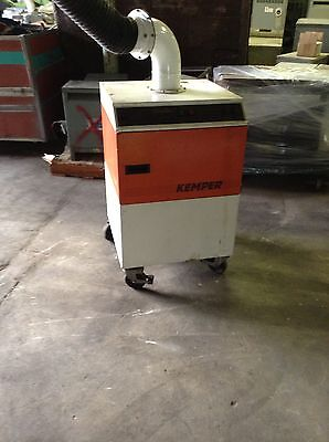 Kemper Container Type High Vacuum Filtration System