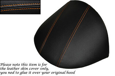Orange Stitch Fits Mg Mgf Mg Tf 1995-2005 Dash Cowl Hood Leather Skin Cover Only