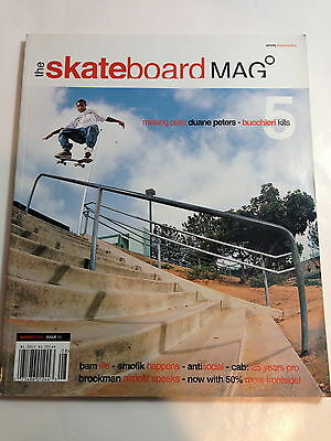 August 2004 Issue #5 - The Skateboard Mag - Like New! NO Reserve!