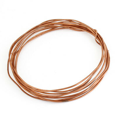 2.8 Meters Long Copper Tone Refrigeration Round Thin Pipe Tubing Coil