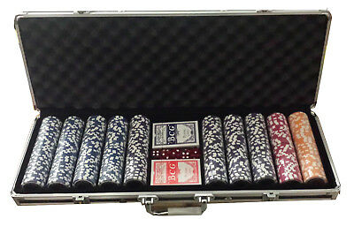 Set Poker valigetta 500 fiches The Nuts 14 gr. high stakes