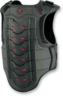 Icon Field Armor Stryker Motorcycle Vest Black 2X-Large/3X-Large 2701-0512