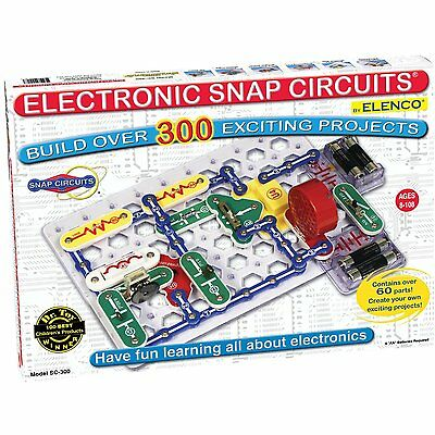 ELENCO SC-300 Electronic Snap Circuits 300-IN-1 NEW!!!