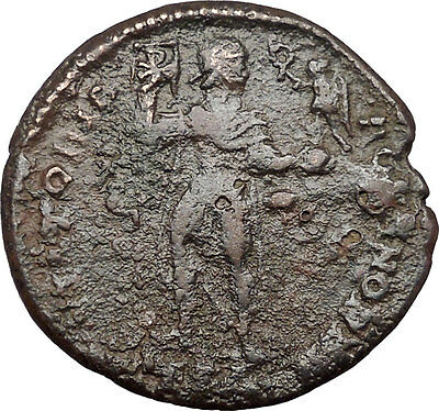 Jovian w Victory 363AD Very Rare Large AE1  Authentic Ancient Roman Coin  i36494