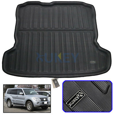 Rear Trunk Tray Boot Cargo Mat Liner Floor Pad For Mitsubishi Pajero 2007-2018