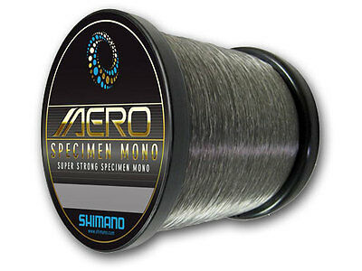 Shimano Aero Specimen Fishing Mono Line 1/4lb Bulk Spool *All Types*