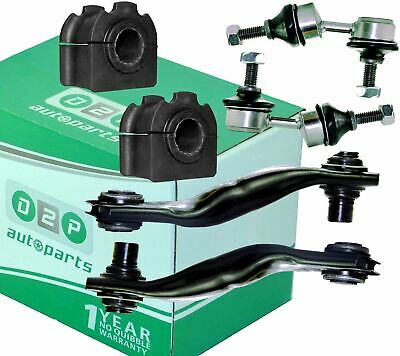 For Jaguar X-Type Rear Lower Control Arms, Anti Roll Bar Bushes & Drop Links Kit
