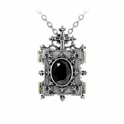 Alchemy Gothic Orthodox Icon Pewter Locket BRAND NEW