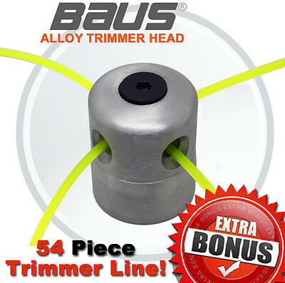 BAUS Whipper Snipper Trimmer Head For Brush Cutter Multi Tool Easy Load NEW