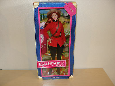 2013 CANADA BARBIE DOLLS of the WORLD COLLCTION
