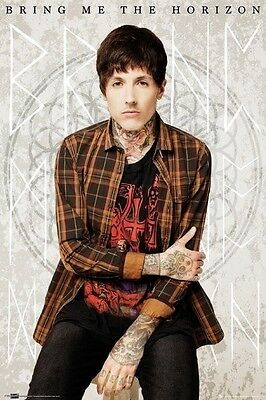 Bring Me The Horizon Music POSTER (61x91cm) Oli Portrait Picture Print New Art