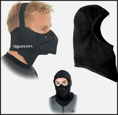Fog Evader Clava Snowmobile Balaclava No Cold Weather Face Mask Combo Pack Set
