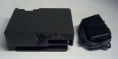 Motorola Minitor II 2 Fire EMS Police Pager Amplified Base Battery Charger Cord