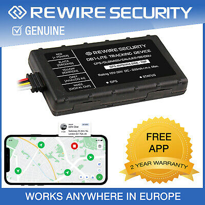 Gps Tracker Rewire Security 303 Fleet Vehicle Car Van Tracking Device System