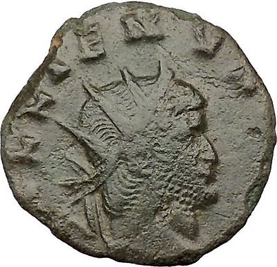 Gallienus son of Valerian I  260AD Ancient Roman Coin Jupiter Zeus Cult  i32315