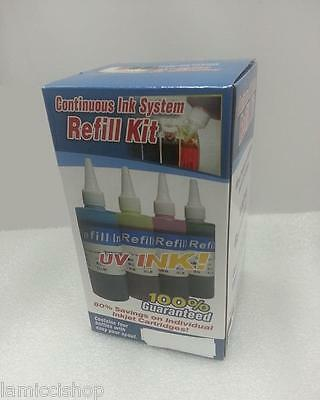 Refill 4 colors ink for CISS of  Epson Expression XP-200 300 400 410 T2001/2/3/4