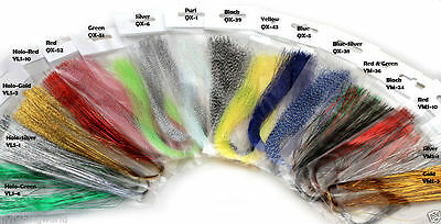 CRYSTAL HOLOGRAPHIC FLASHABOU - krystal, tinsel, flash for fly tying Materials