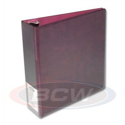 Trading Card Collectors Album with Page sleeves, 3 inch Spine