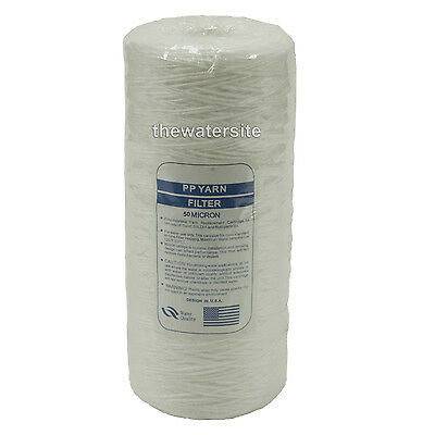 """10"""" Jumbo Wound Particle Filter 50 Micron Water, Vegetable Oil, Biodiesel"""