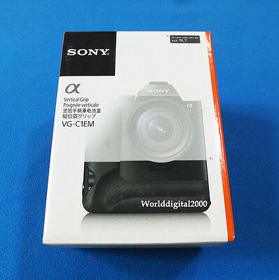 Sony Genuine Battery Grip Vertical  VG-C1EM For Only Sony A7 A7R